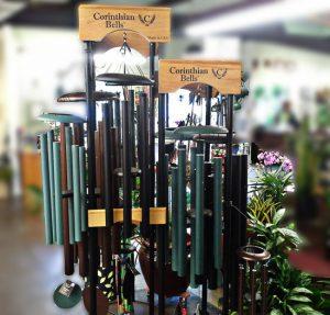 corinthian bells at the kingwood garden center