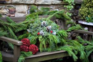 garden-bench-christmas